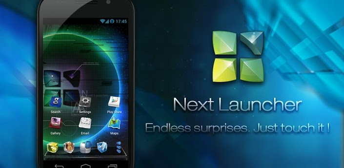 Скачать лаунчер next 3d для андроид полная версия