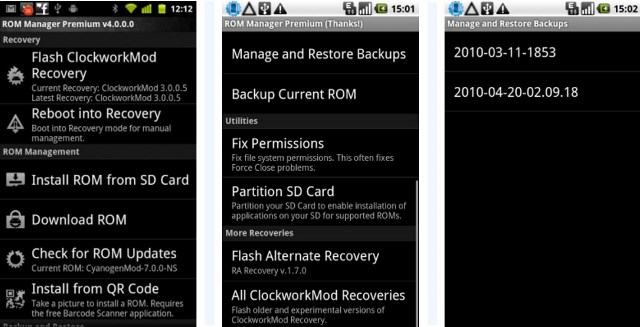 Скачать На Андроид Rom Manager 5.5.2.8