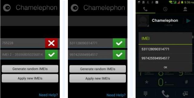 Скачать Программу На Андроид Chamelephon Для Восстановления Imei - фото 4